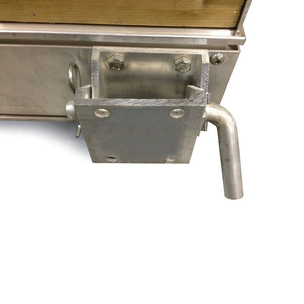 Quai flottant cadre uniquement (rampe),  10' x 4'