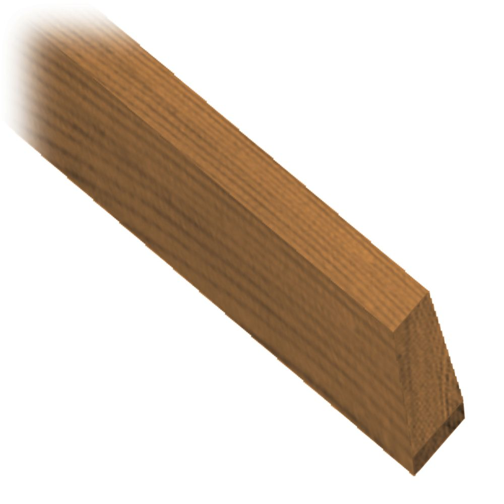 Balustre de rampe de 36 pouces en bois traité