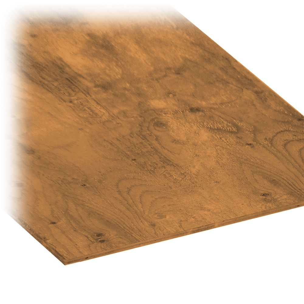 MicroPro Sienna 1/2 In.- 4 Ft. x 8 Ft. Pressure Treated Plywood