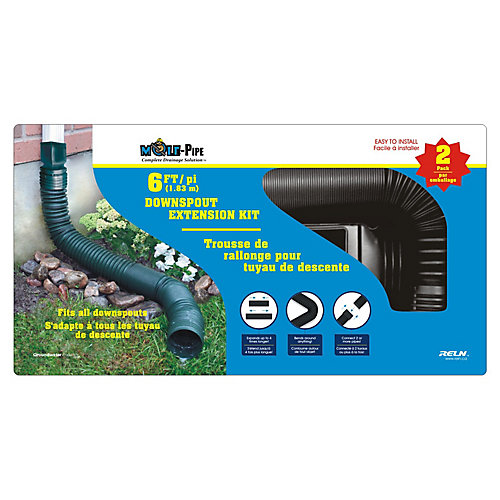 6 Feet Downspout Value (2-Pack)