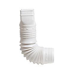 Adaptateur de tuyau de descente FLEX-A-SPOUT 2x3 po Blanc