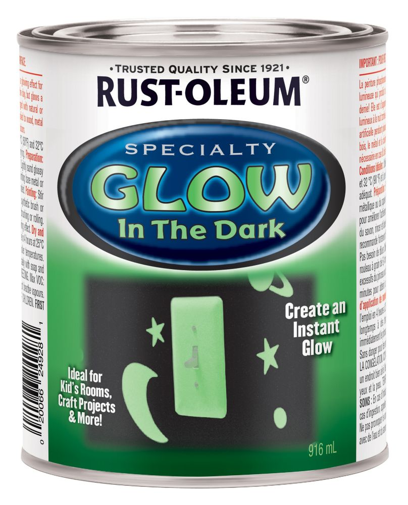 rust oleum specialty glow in the dark 946ml the home depot canada. Black Bedroom Furniture Sets. Home Design Ideas