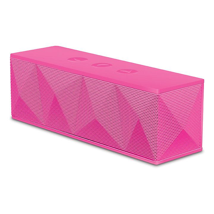 Bluetooth Haut-parleur pyramidal (rose)