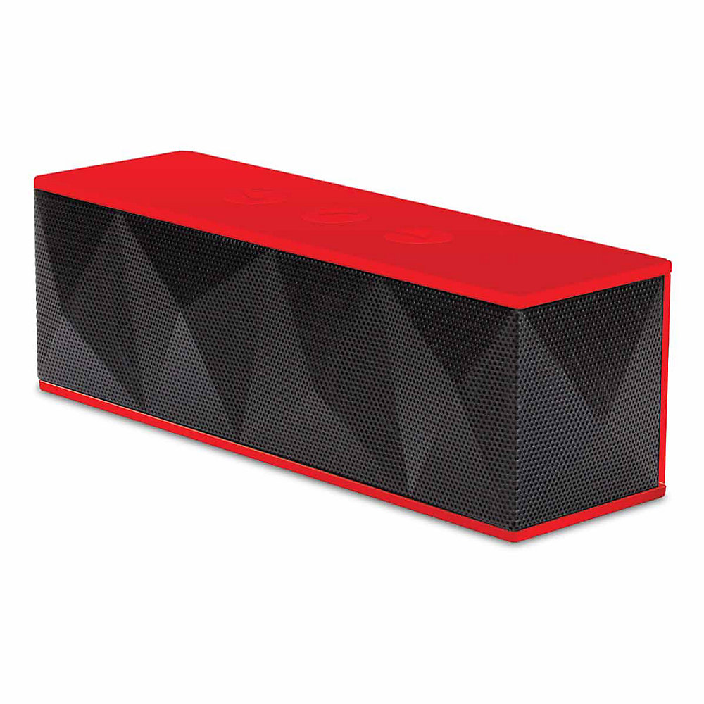 Bluetooth Haut-parleur pyramidal (rouge)
