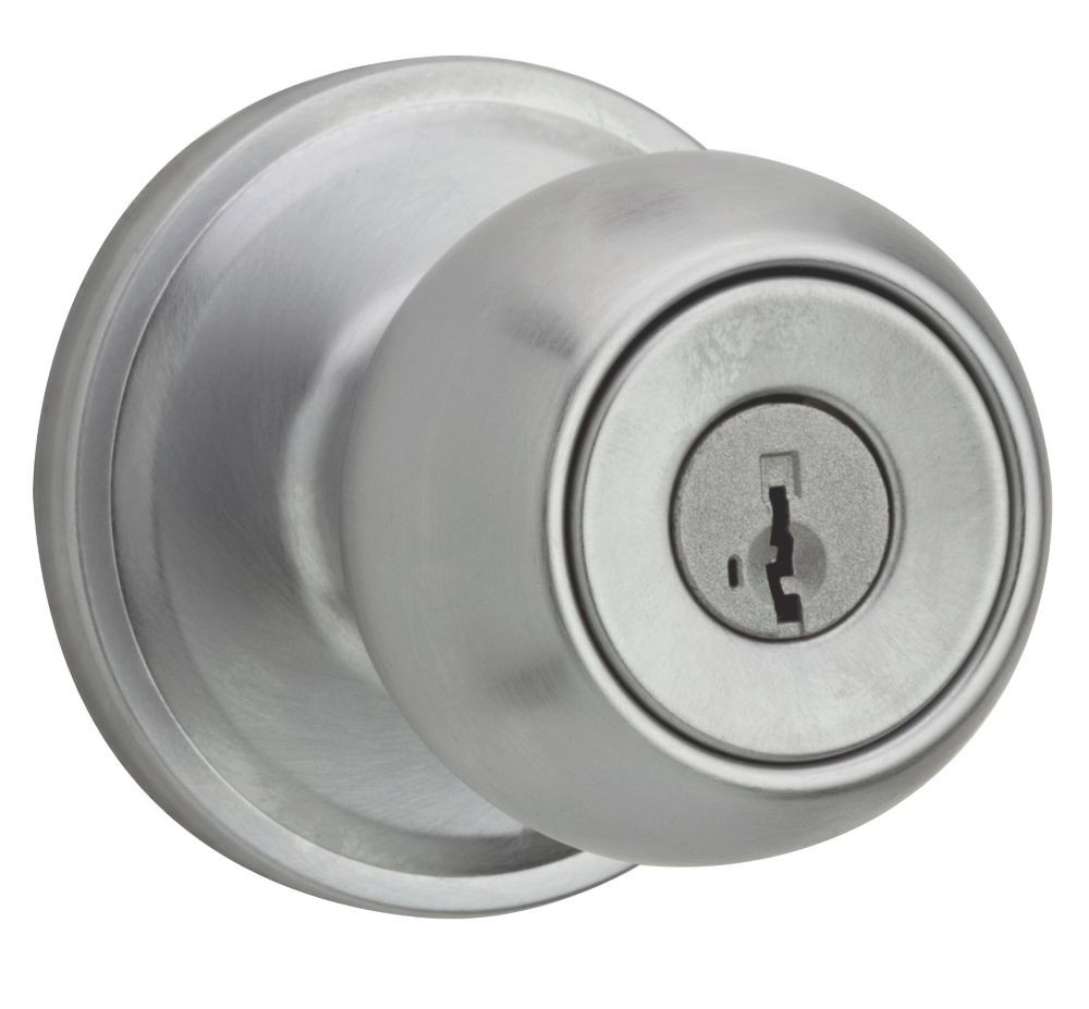 Huntington Satin Chrome Entry Knob