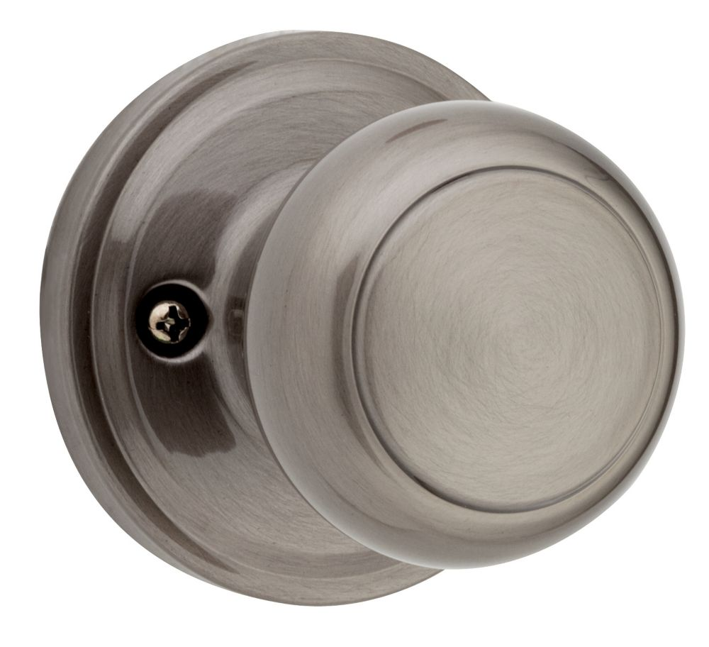 Troy Dummy Knob in Antique Nickel