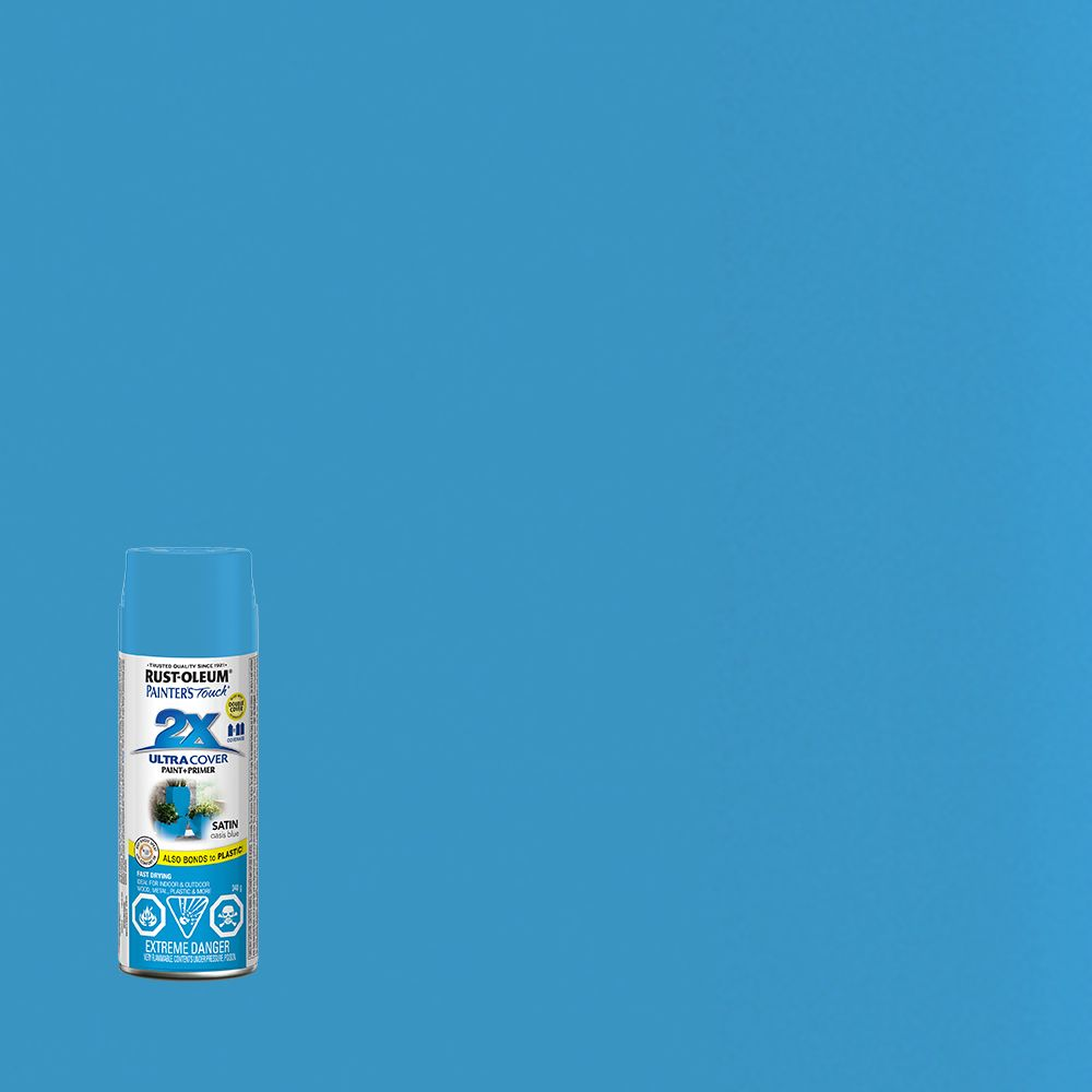 Painter's Touch 2X  Bleu Oasis Satine