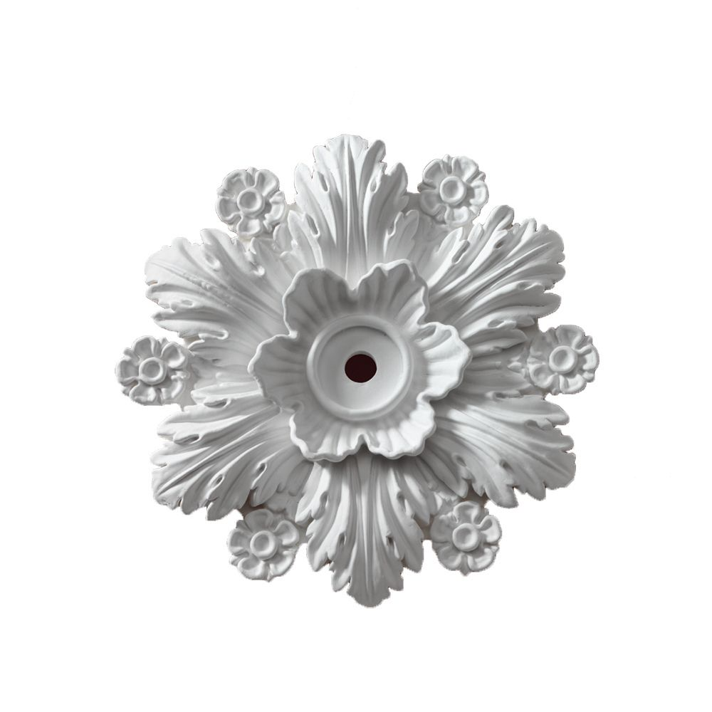 14 3/8-inch x 14 3/8-inch x 2 1/4-inch Beaumont Smooth Ceiling Medallion