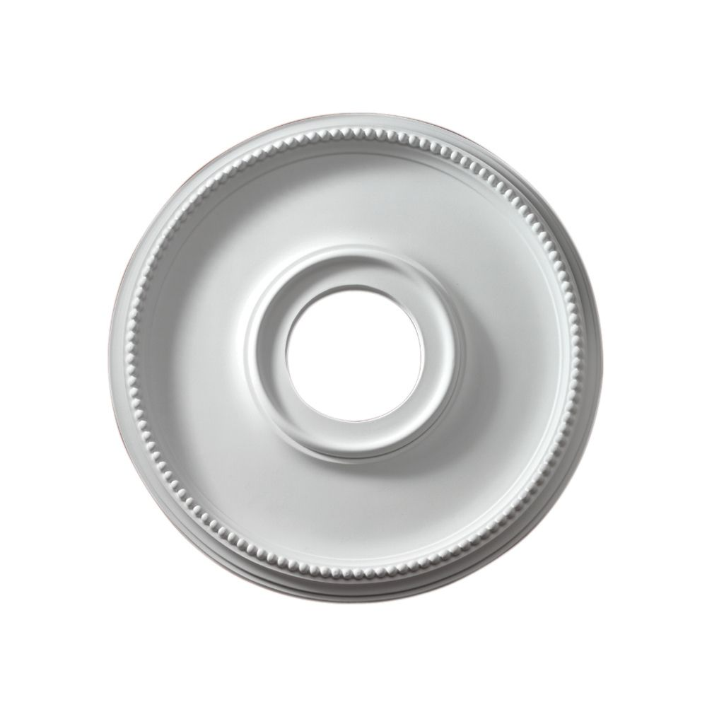 16-inch x 16-inch x 1 1/16-inch Atlanta Smooth Ceiling Medallion