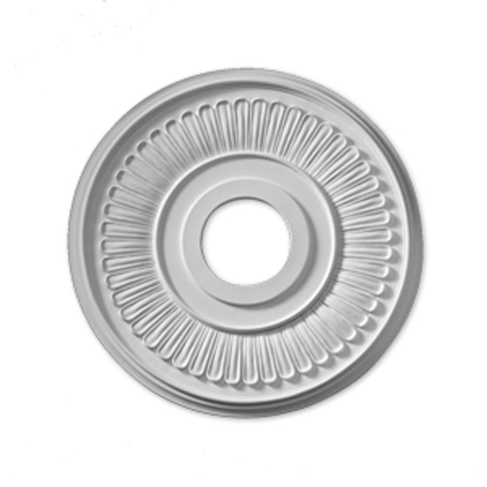 15 1/2-inch x 15 1/2-inch x 5/8-inch Jefferson Smooth Ceiling Medallion