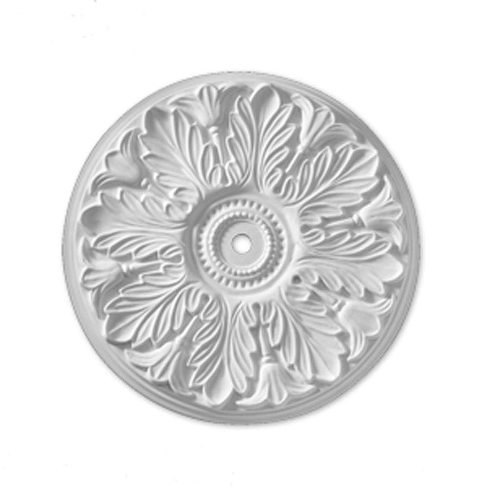 19 1/8-inch x 19 1/8-inch x 1-inch Windsor Smooth Ceiling Medallion