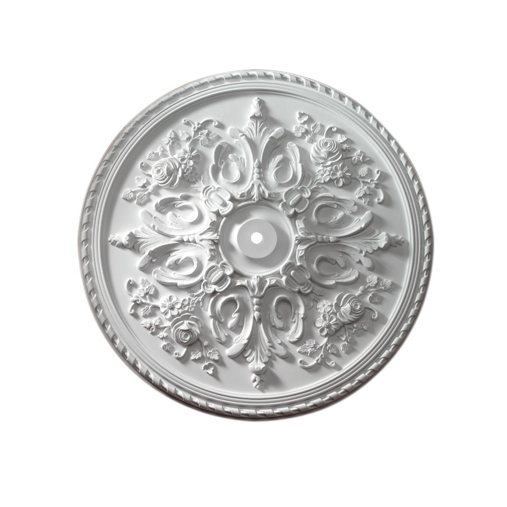 32 1/2-inch x 32 1/2-inch x 2 1/2-inch St Georges Smooth Ceiling Medallion