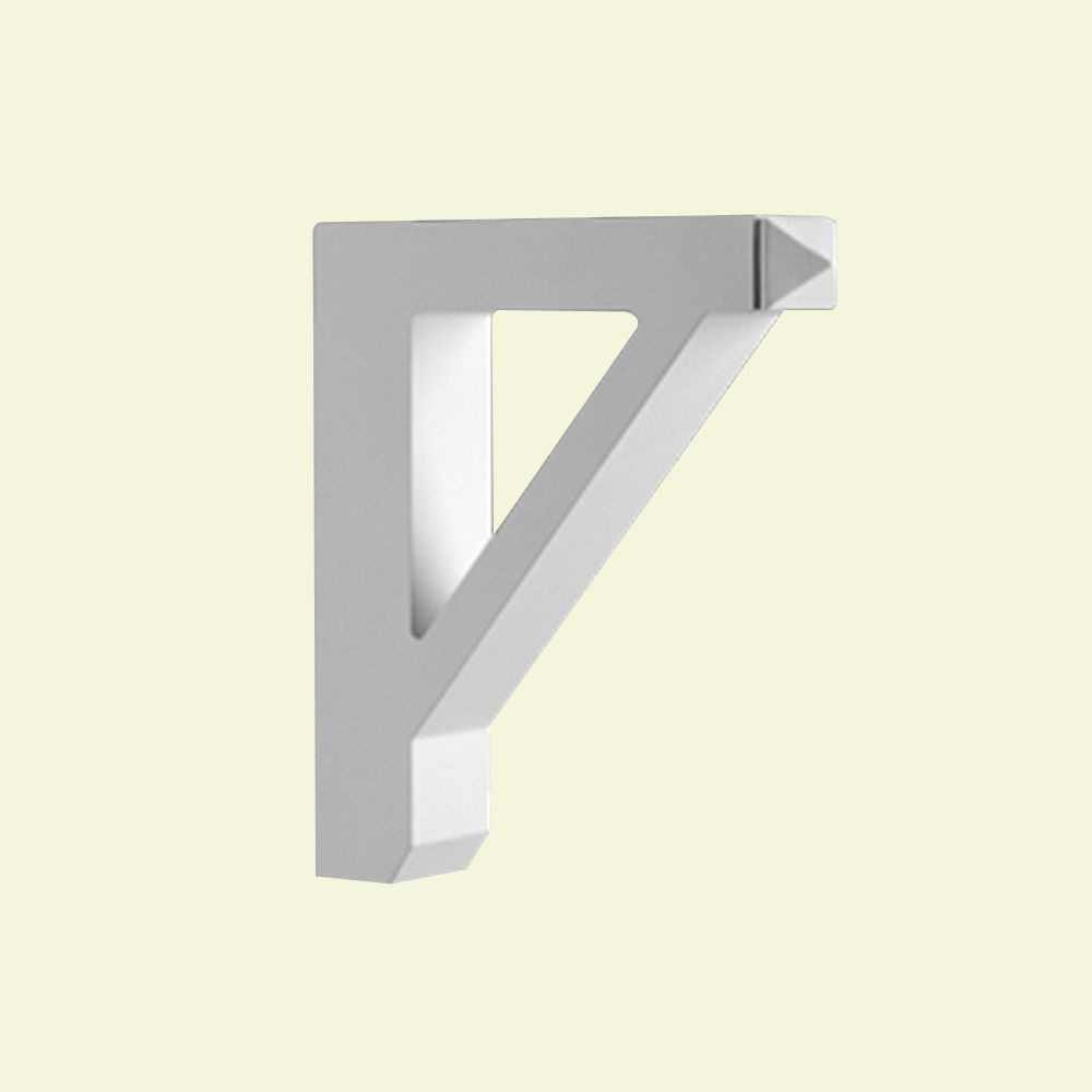 16-inch x 3 1/2-inch x 18-inch Primed Polyurethane Bracket