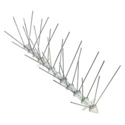 Bird-X Inc. Stainless Steel Bird Spikes 10 Foot Kit Guaranteed Bird Repellent Control #1 Best Seller