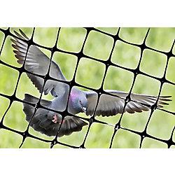 """Bird-X Inc. Structural Bird Netting 100 Feet X 14 Feet Lightweight Bird Control 1/2"""" Molded Mesh #1 Best Seller"""