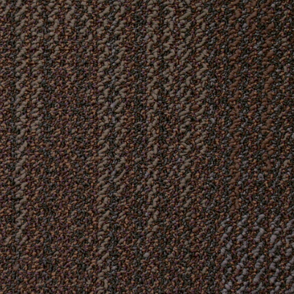 Carreau de tapis Bonafide - couleur mélasse sucrée 50cm x 50cm (54 Pi. Carre par caisse)