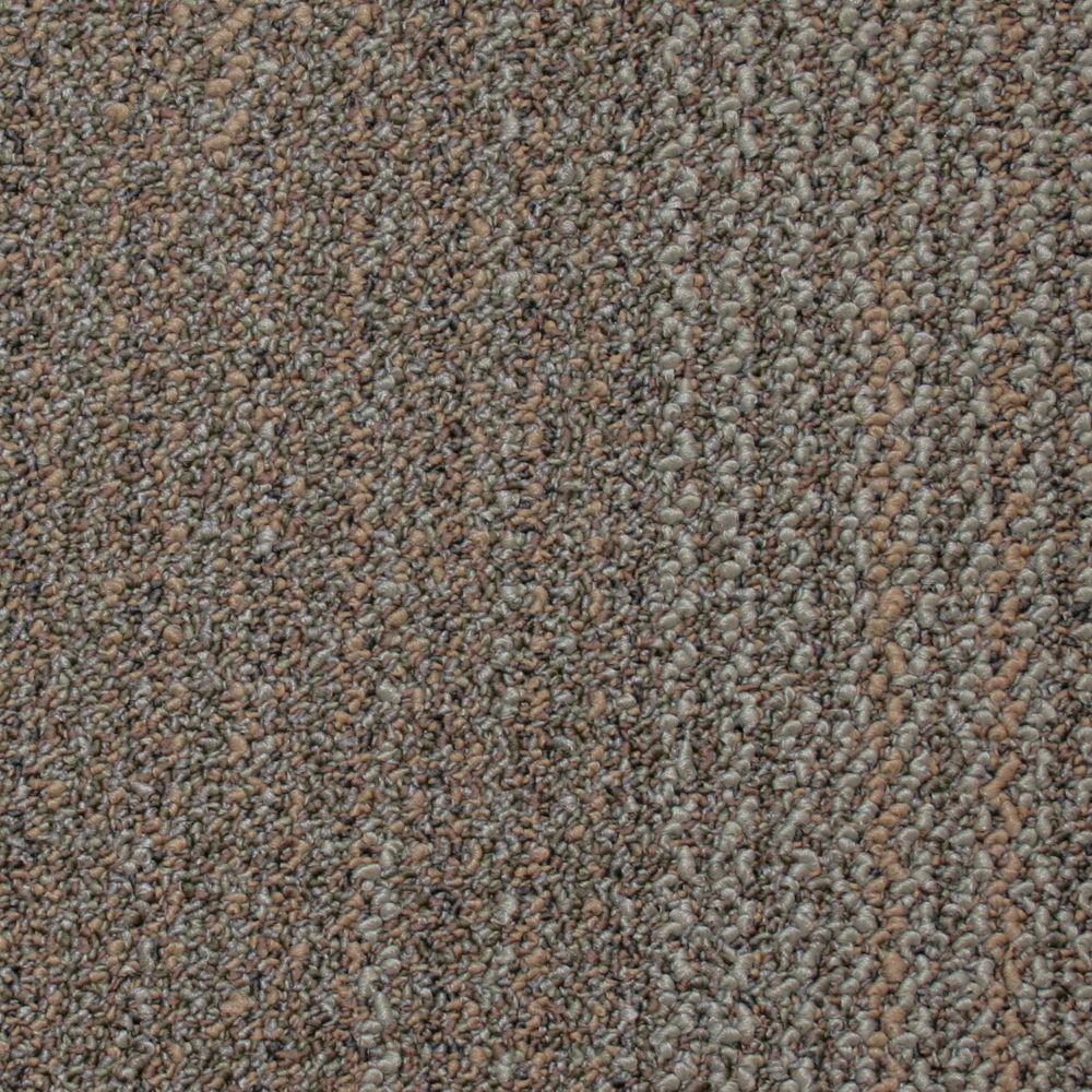 Carreau de tapis Bonafide - couleur graine de lin 50cm x 50cm (54 Pi. Carre par caisse)