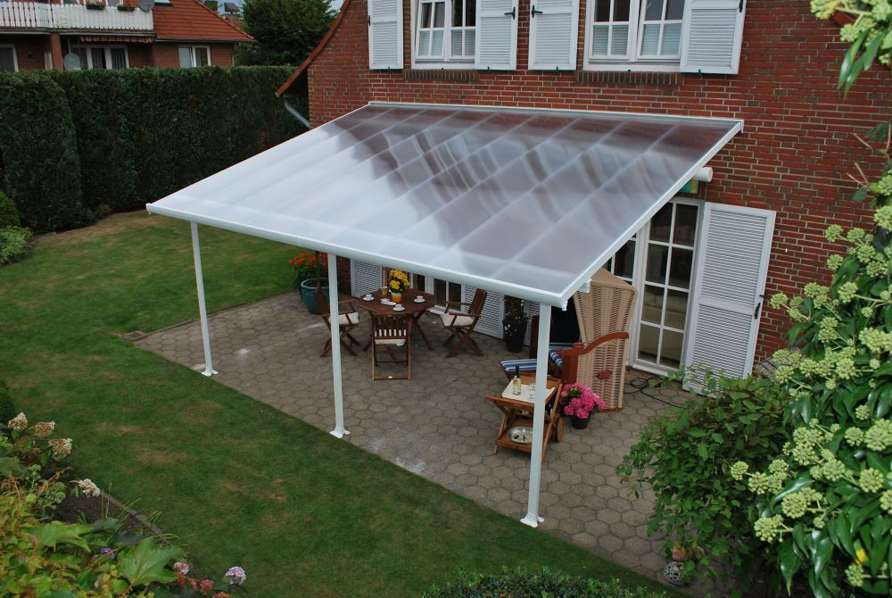 13 ft. x 20 ft. Feria Patio Cover in White