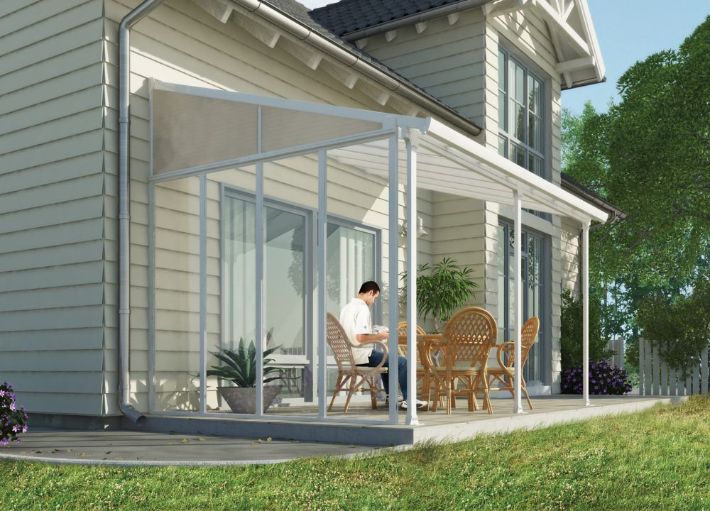 13 ft. Feria Patio Cover Side Wall