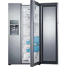 22 cu. ft. Side-by-Side Refrigerator in Stainless Steel - ENERGY STAR®