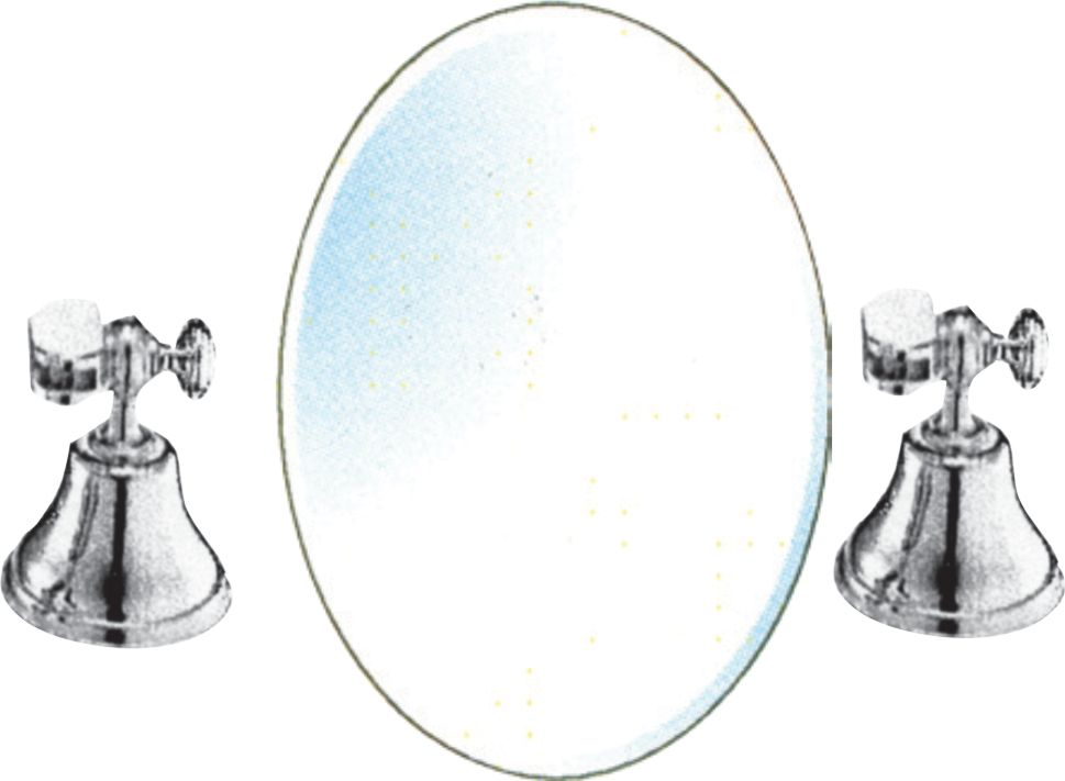 Holten Impex Triumph 20-inch X 30-inch Oval Mirror With
