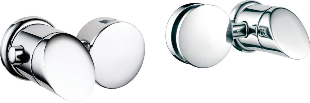 Infiniti Mirror Holders Only, (Pair) Polished Chrome