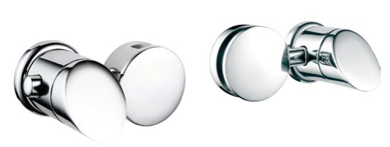 Infiniti Mirror Holders Only, (Pair) Brushed Nickel