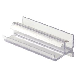 Prime-Line Shower Door Bottom Guide, Clear