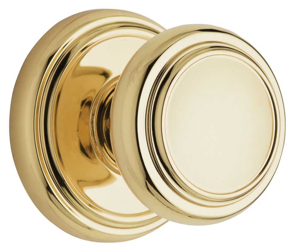 Wickham Polished Brass Passage Knob