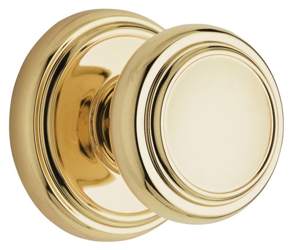 Wickham Polished Brass Passage Knob