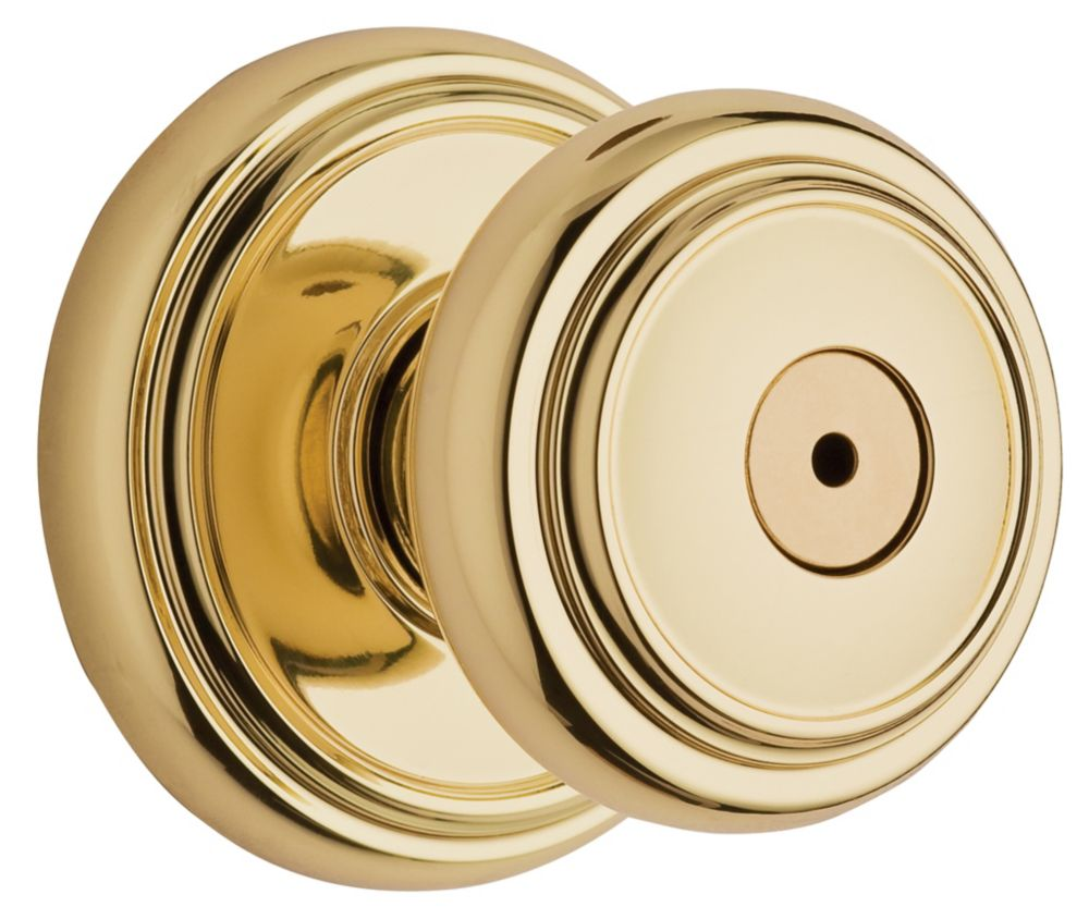 Wickham Polished Brass Privacy Knob