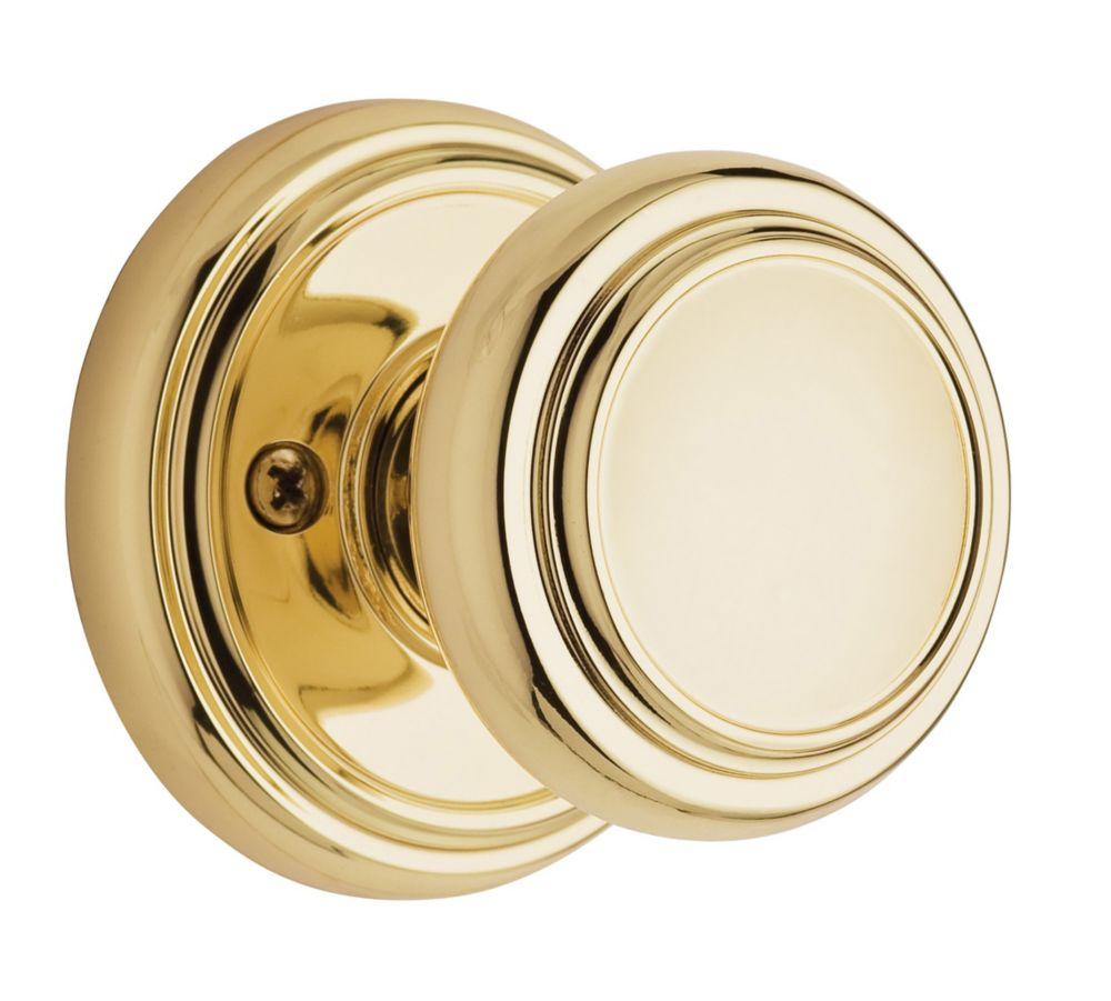 Wickham Dummy Knob in Polished Brass