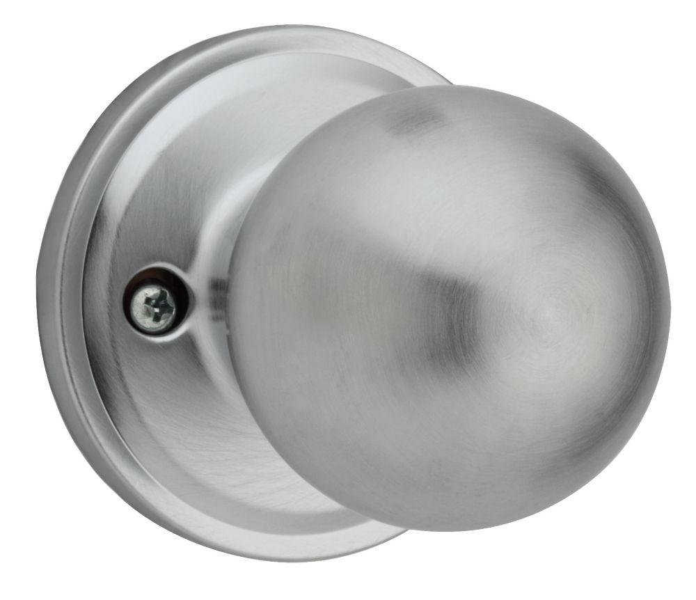 Huntington inactif bouton Chrome Satin
