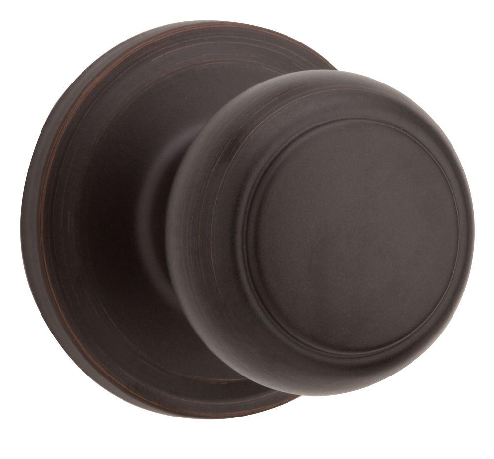 Troy passage et penderie bouton Venetian Bronze