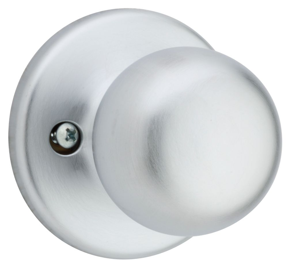 Fairfax Dummy Knob in Satin Chrome