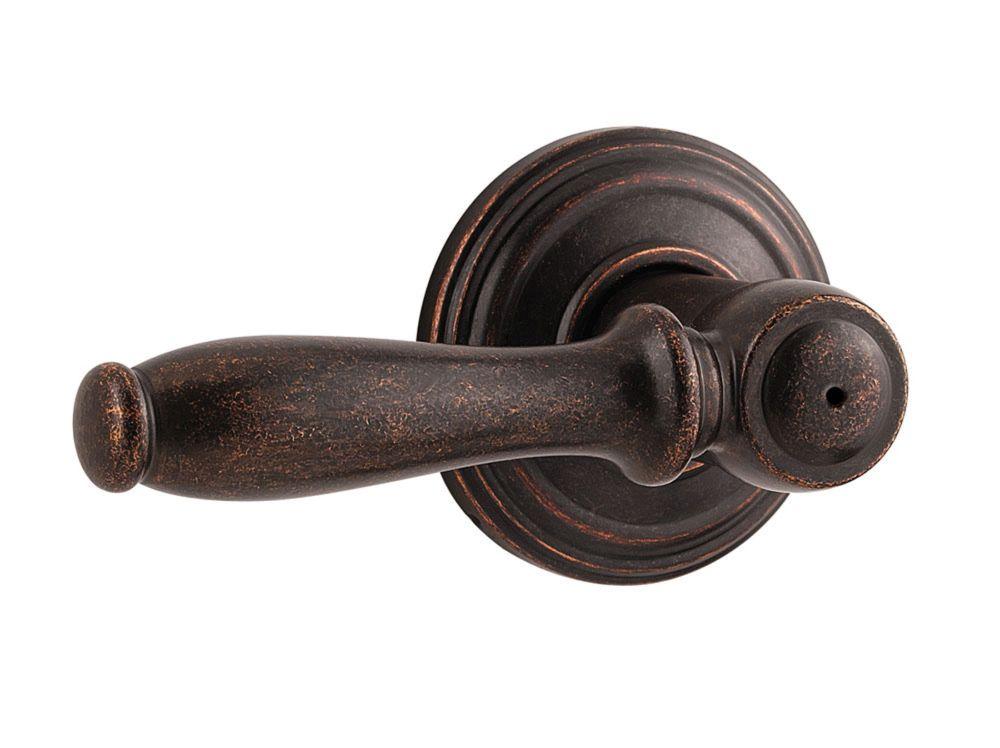 Ashfield Rustic Bronze Privacy Lever