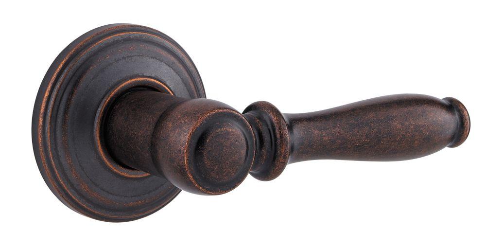 Ashfield Dummy Lever in Rustic Bronze