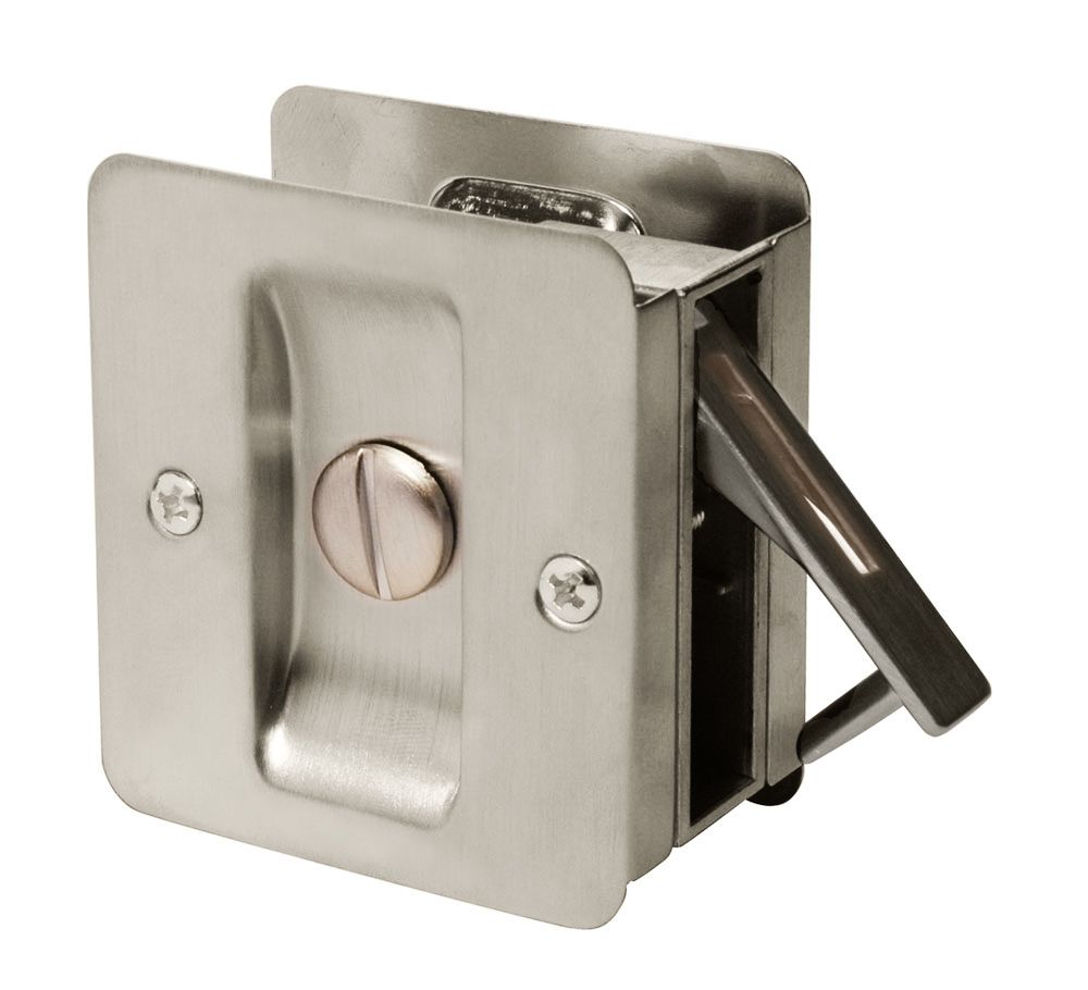 Forge Saturn Satin Nickel Privacy Door Lock The Home