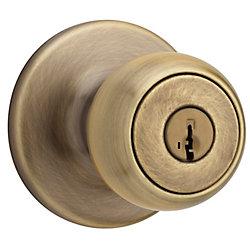 Fairfax Antique Brass Entry Knob