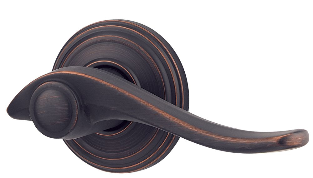 Weiser Avalon Dummy Lever in Venetian Bronze