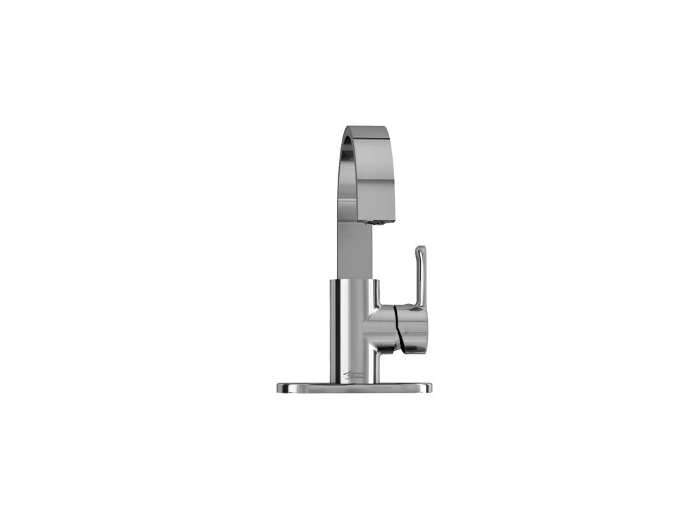 Lycos Monoblock Bathroom Faucet in Polished Chrome Finish