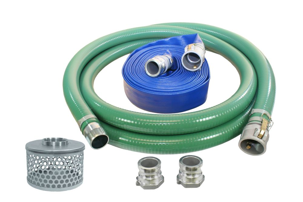 One and a half inch water pump hose kit