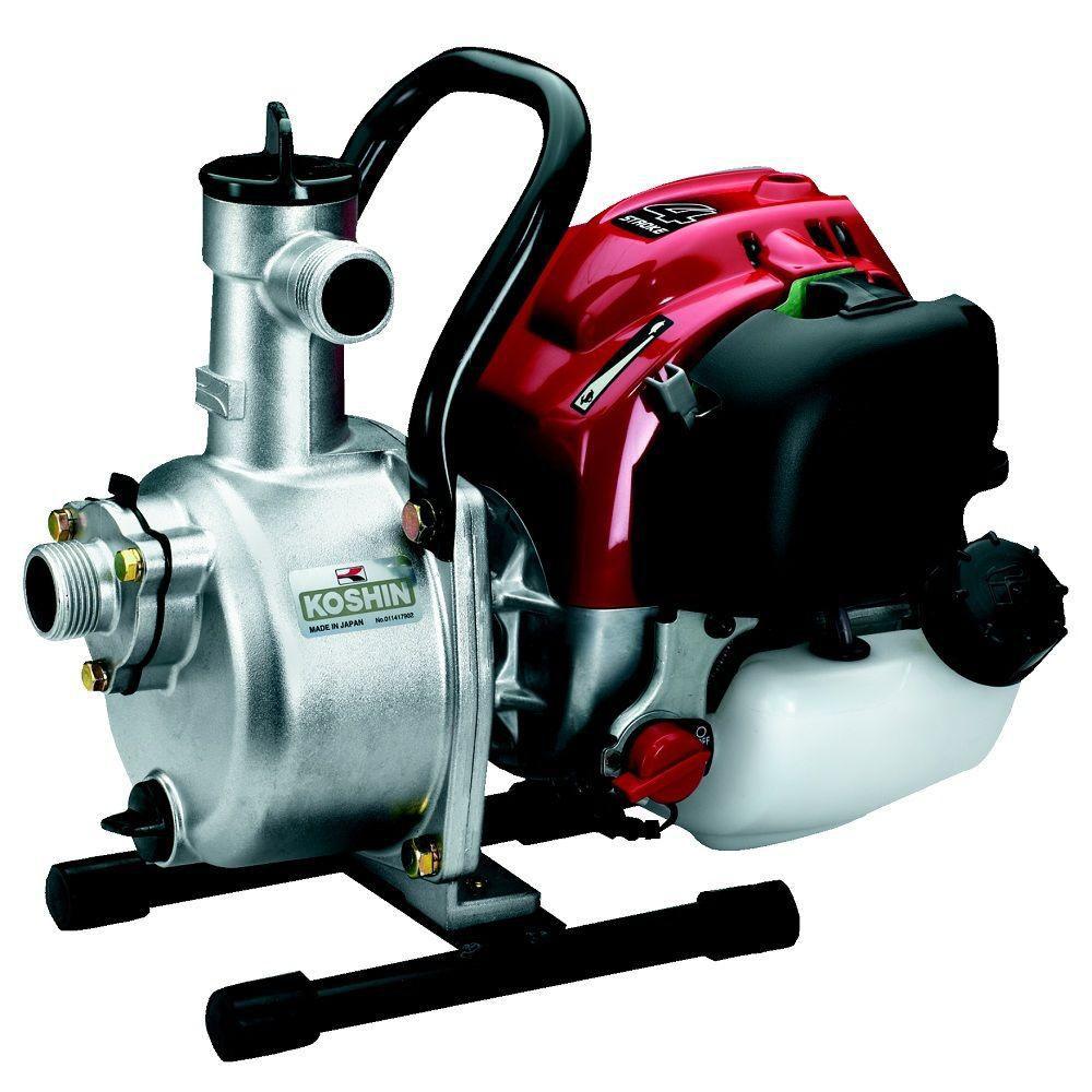 Pompe centrifuge koshin seh-25l avec un kit de tuyau pour pompe à eau de 1 pouce
