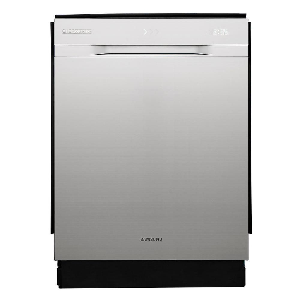 Samsung chef collection 24 inch built in dishwasher with for 24 inch built in microwave stainless steel