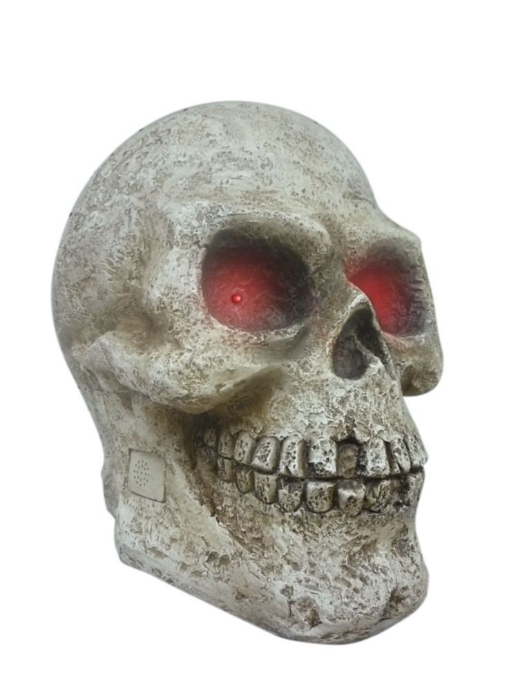 14 Inch Skull With LED AND Scream Sound