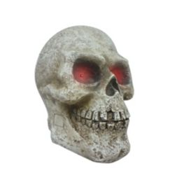 Home Accents Holiday 14 inch Skull With LED AND Scream Sound