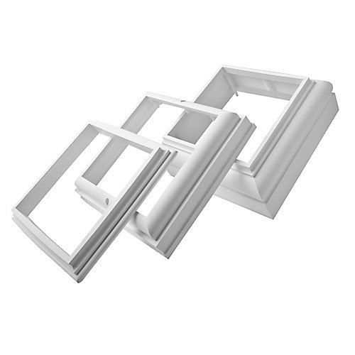 PVC Trim Accessory Kit For 6 Inch Square Post Cover