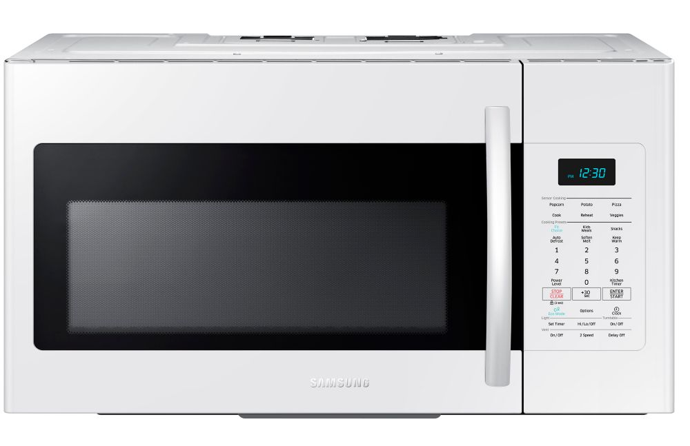 1.7 cu. ft. Over-the-Range Microwave Hood Combo in White