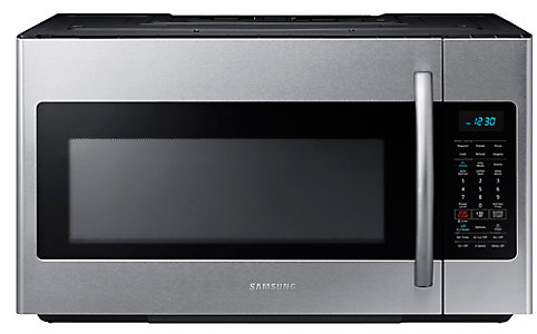 Over The Range Microwave Hood Combo With Ceramic Cavity In Stainless Steel Home Depot Canada