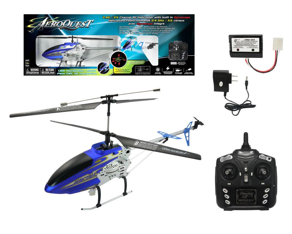 Hélicoptère Radiocommandè 2.4GHz/ 3.5 Canaux